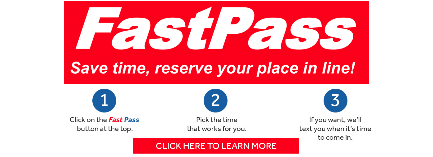 Fast Pass and eRegistration
